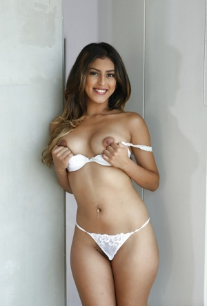 Young sexy latinas in thong