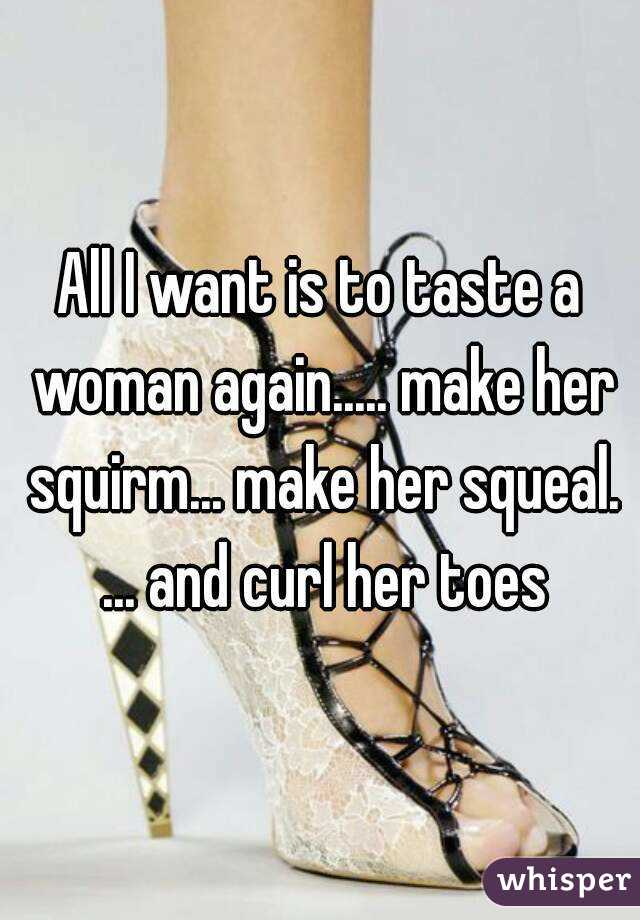 How to make her squirm