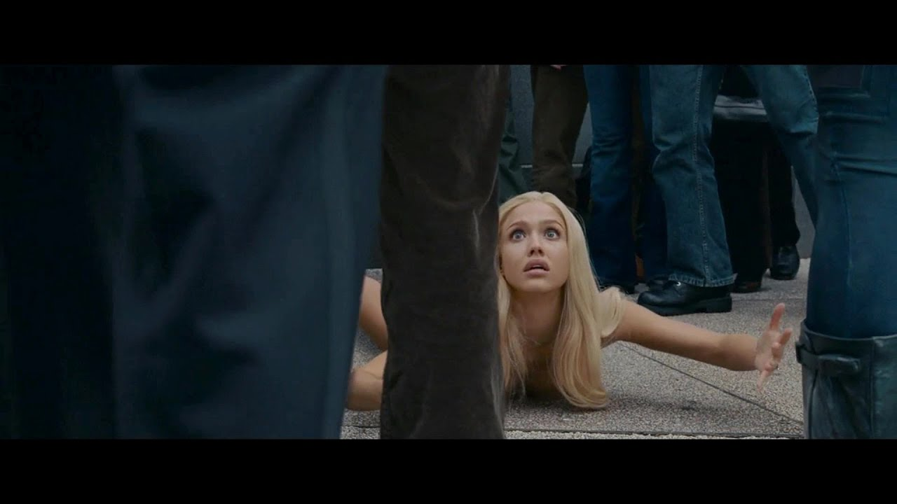 Hot naked invisible woman