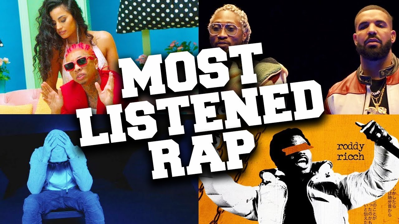 Most popular rap songs currently