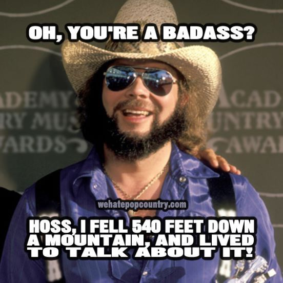 Bad ass country music