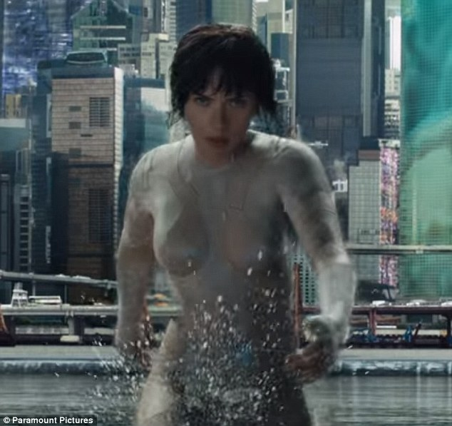Ghost in the shell hot pics