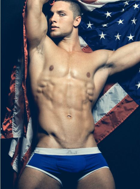 Sexy american naked mans