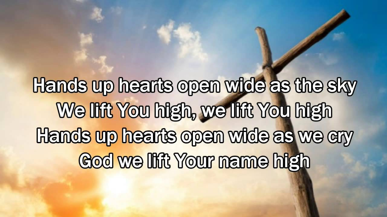 Wide open christian song